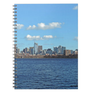 Boston Skyline Spiral Notebook