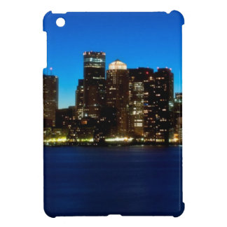Boston skyline with moon iPad mini covers