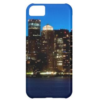 Boston skyline with moon iPhone 5C case