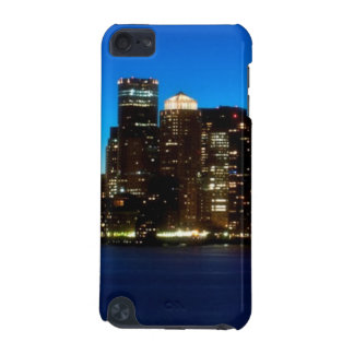Boston skyline with moon iPod touch (5th generation) cover