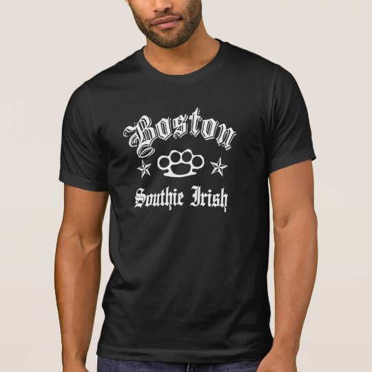 Boston Southie IRISH Knuckles T-Shirt