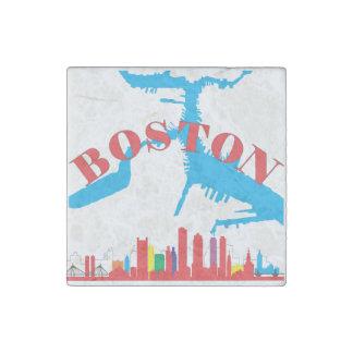 Boston Stone Magnet