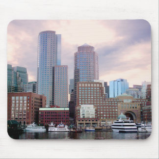 Boston Stormy Skyline Mouse Mat