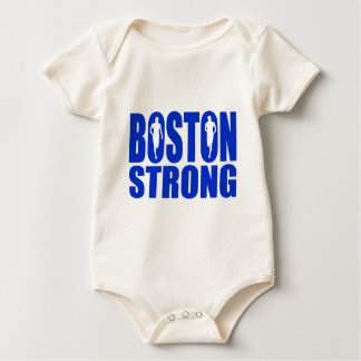 Boston strong Blue Baby Bodysuit