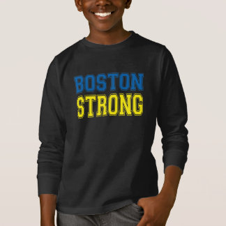 BOSTON STRONG College Style T-Shirt