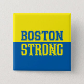 Boston Strong Graphic Style 15 Cm Square Badge