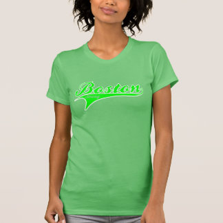 BOSTON STRONG Neon Green Ballpark T-shirt