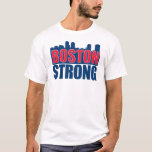 Boston Strong Red & Blue T-Shirt