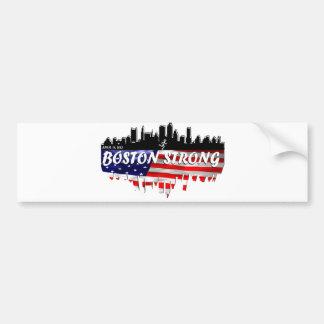 Boston Strong Run Bumper Sticker