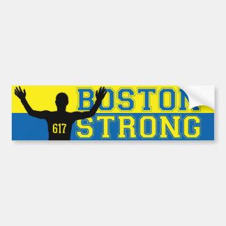 Boston Strong Silhouette 617 Bumper Sticker
