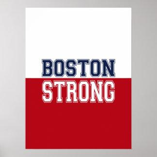 Boston Strong Spirit Decor Poster