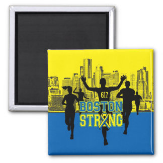 Boston Strong Spirit Silhouettes Magnet