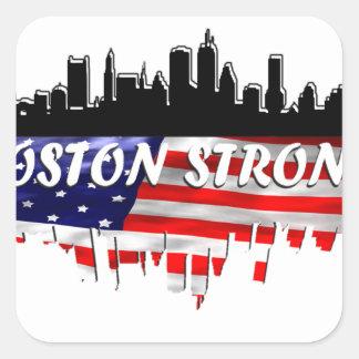Boston Strong Square Sticker