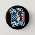 BOSTON STRONG TERRIER crest style 6 Cm Round Badge