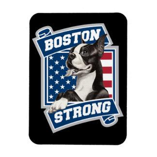 BOSTON STRONG TERRIER crest style Rectangular Photo Magnet