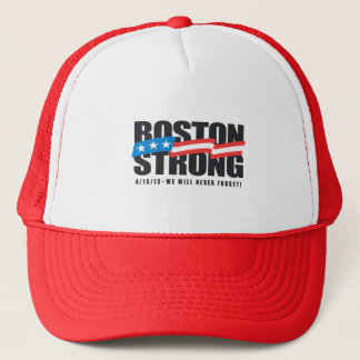 Boston Strong Trucker Hat