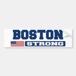 BOSTON STRONG U.S. Flag Bumper Sticker