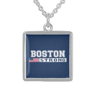 BOSTON STRONG U.S. Flag Custom Necklace