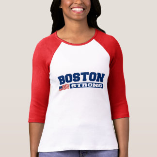 BOSTON STRONG U.S. Flag T-Shirt