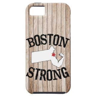 Boston Strong Wood Grain iPhone 5 Cover