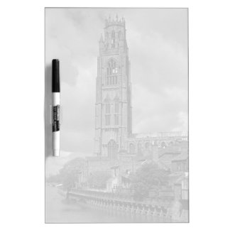 Boston Stump and River Welland, Lincolnshire Dry Erase Board