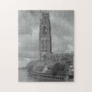 Boston Stump and River Welland, Lincolnshire Jigsaw Puzzle