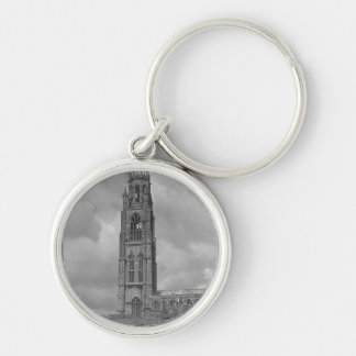 Boston Stump and River Welland, Lincolnshire Key Ring