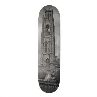 Boston Stump and River Welland, Lincolnshire Skate Board Decks