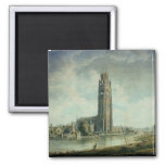 Boston Stump: view from the South-west Square Magnet