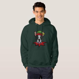 Boston Sweatshirt Funny Elf Christmas Gift Shirt