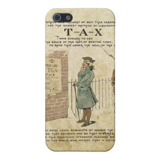 Boston tea Party Independence Day iPhone 5/5S Case