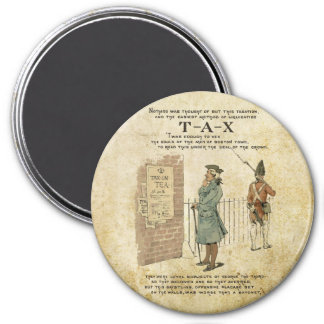 Boston tea Party Independence Day Magnet