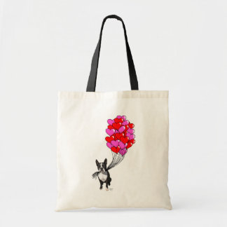 Boston Terrier And Balloons Tote Bag