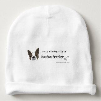 boston terrier baby beanie