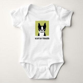Boston Terrier Baby Bodysuit