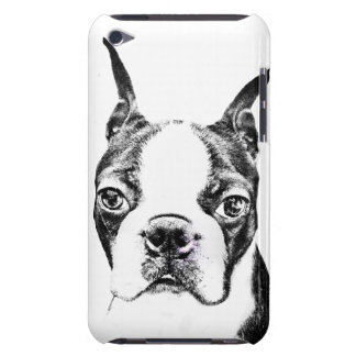Boston Terrier Barely There iPod Cases