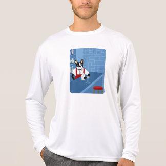 Boston Terrier Bartender Tee Shirt