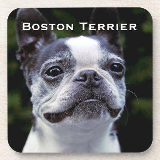 Boston Terrier Beverage Coasters