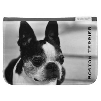 Boston Terrier Black and White Kindle 3G Cases
