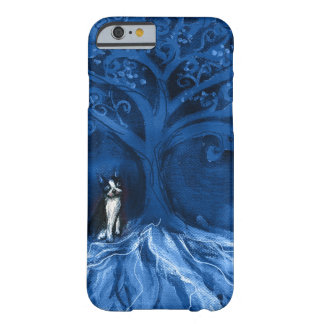 Boston terrier blue barely there iPhone 6 case