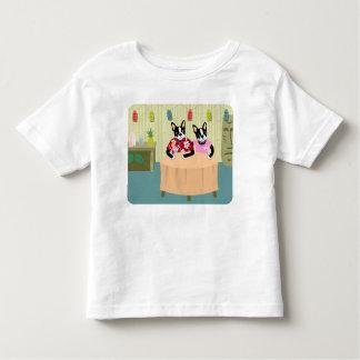 Boston Terrier Boy & Girl Toddler T-Shirt