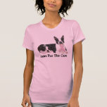 Boston Terrier Breast Cancer Ladies T-Shirt