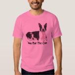 Boston Terrier Breast Cancer Unisex T-Shirt
