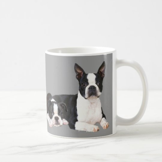 Boston Terrier Buddies Mug