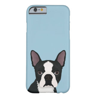 boston terrier cartoon barely there iPhone 6 case
