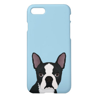 boston terrier cartoon iPhone 8/7 case