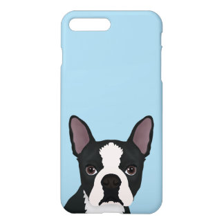 boston terrier cartoon iPhone 8 plus/7 plus case