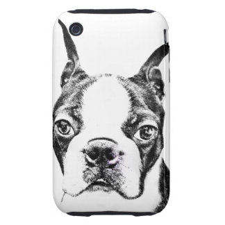 Boston Terrier iPhone 3 Tough Cover