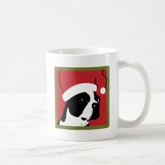 Boston Terrier Christmas Mugs