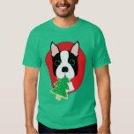 Boston Terrier Christmas Tshirts